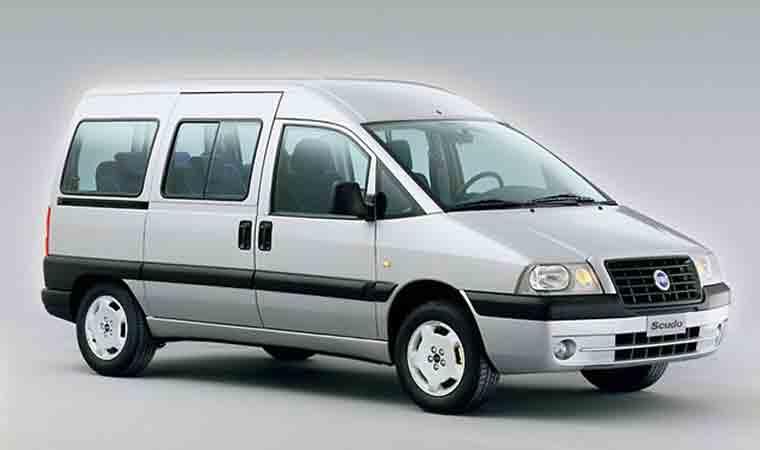 Fiat scudo 9 seats