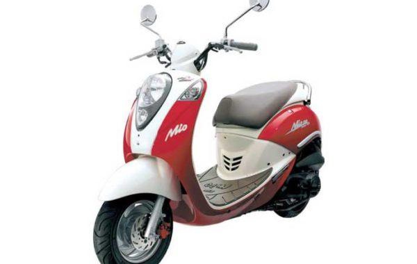Vespa Mio Red